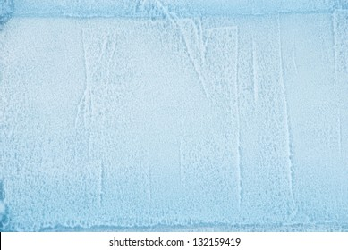a cube of ice as texture or background