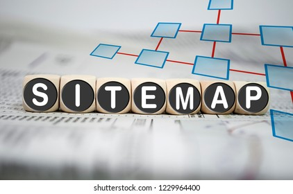 Cubes and dices with sitemap
