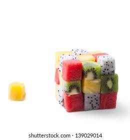 Cubic fruit