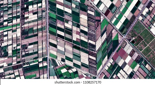 cubist landscape, homage to Picasso, abstract photography of the deserts of Africa from the air, aerial view, abstract expressionism, contemporary photographic art,