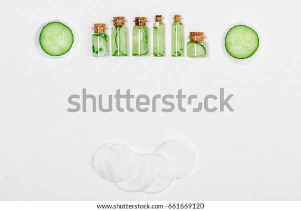 Cucumber Facial Homemade Mask Acne Face Stock Photo Edit Now 661669120
