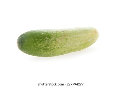 cucumber green vegetable isolated on white background