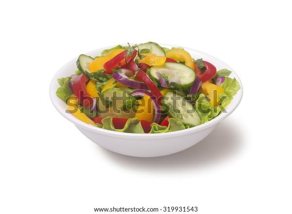 cucumber pepper salad