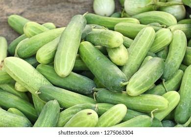 cucumber at street food