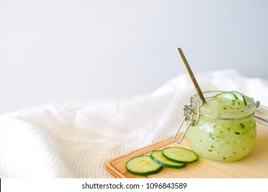 Cucumber Sugar Scrub Body Spa Treatment with Focus Selection