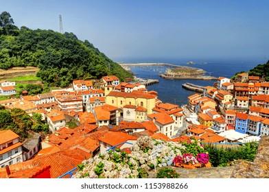 Cudillero, picturesque fishing village, Asturias, Spain