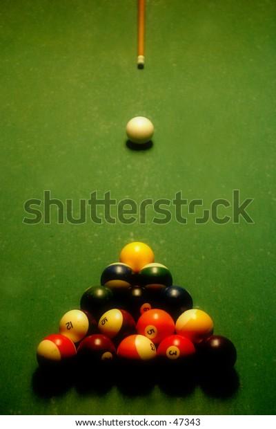 Cue Ball on the Break 2