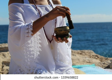 Cuenco for meditation and kundalini yoga practice