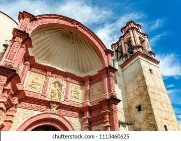 Cuernavaca cathedral near Taxco, Mexico