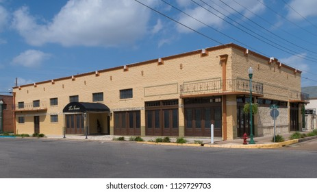 CUERO, TEXAS - JUNE 10 2018: The Venue is an event facility with a bit of New Orleans style
