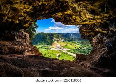 Cueva Ventana cave in Puerto Rico local attraction