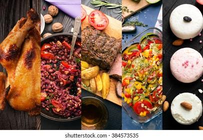 Кухня разных стран. Западные и восточные блюда