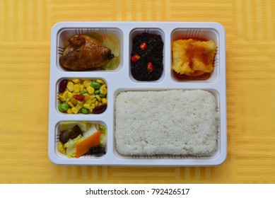 Cuisine food package lunch Chinese high - speed rail food high - grade lunch Chinese lunch Chinese food meals fast flights