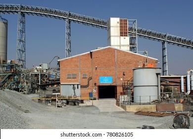 CULLINAN, SOUTH AFRICA - CIRCA AUGUST 2017: Cullinan diamond mine, near Johannesburg