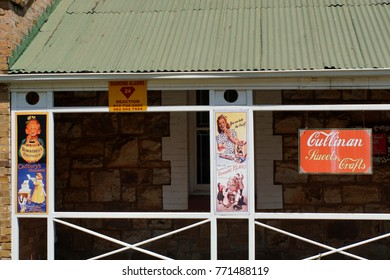 CULLINAN, SOUTH AFRICA - CIRCA SEPTEMBER 2017: Gift and candy shop on the main road near the mine