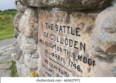 Culloden Moor, Scotland.