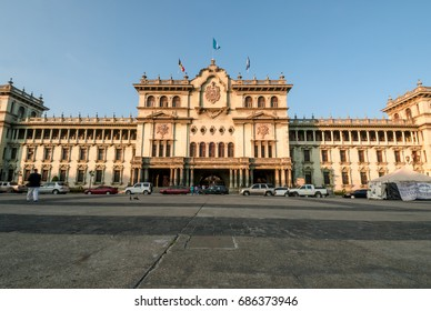 Cultural center of guatemala, old national palace.