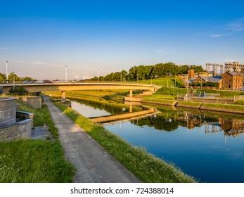 Cultural landscape of the Canal du Centre, Belgium