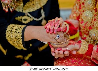culture of bride on Muslim brides