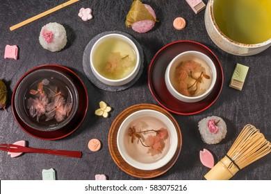 Culture of tea party Japan