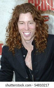 """CULVER CITY, CA - JUNE 5: Shaun White arrives at the 4th annual Spike TV's """"Guy's Choice"""" held June, 5, 2010 at Sony Studios in Culver City, CA."""