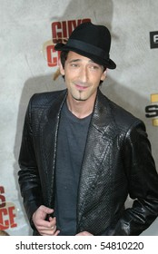 """CULVER CITY, CA - JUNE 5: Adrien Brody arrives at the 4th annual Spike TV's """"Guy's Choice"""" held June, 5, 2010 at Sony Studios in Culver City, CA."""