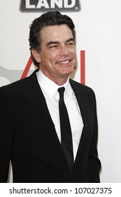 CULVER CITY - JUN 9: Peter Gallagher at the 39th AFI Life Achievement Award Honoring Morgan Freeman held at Sony Pictures Studios  in Culver City, California on June 9, 2011.