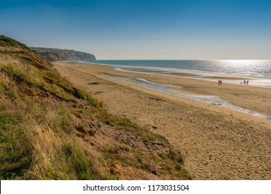 Culver Cliff, from Yaverland, Sandown, Isle of Wight