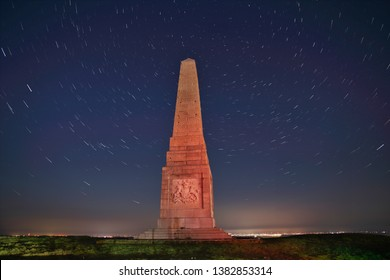 Culver Monument Landscape with star trails
