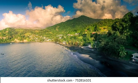 Cumberland bay in St-Vincent and the Grenadines