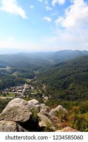 Cumberland Gap View from Pinnacle Overlook in Kentucky