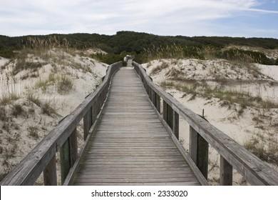 Cumberland Island Beach Walkway