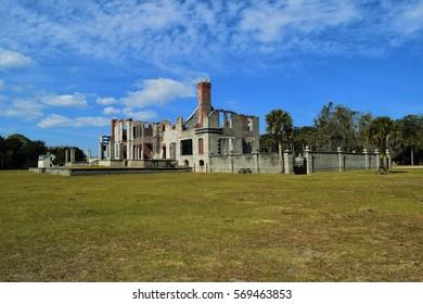 Cumberland Island Mansion Ruins