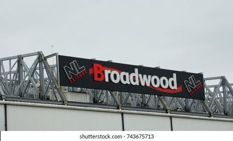 Cumbernauld, Scotland, UK; October 10th 2017: Broadwood Stadium. Home to Clyde FC.