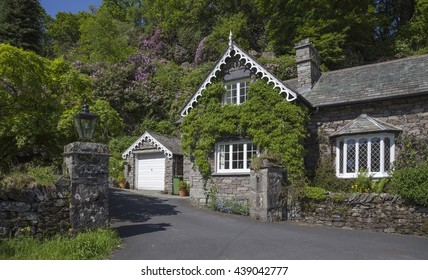 Cumbrian lodge, Grasmere, The Lake District, England
