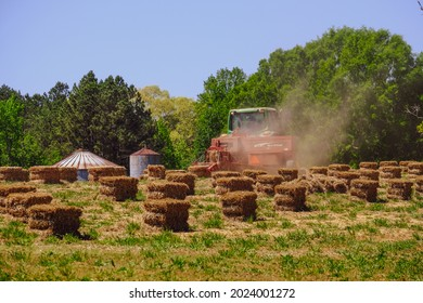 CUMMING, GEORGIA - April 22, 2021: At the start of the century, over 1 3 of the work force, were employed in agriculture. It is second only to the service industry worldwide.