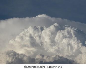 Cumulonimbus cloud billowing in the Texas panhandle.