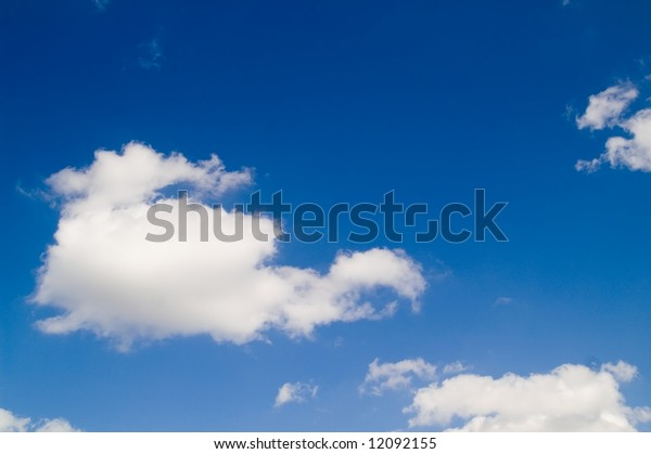 Cumulus sky