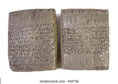 Cuneiform Tablet Replicas