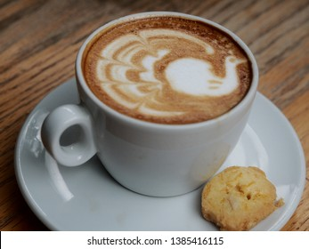 A Cup of Caffe Latte (Espresso coffee with milk)