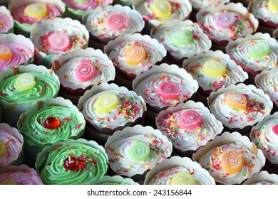 cup cake background