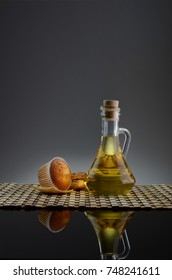 Cup cake olive oil