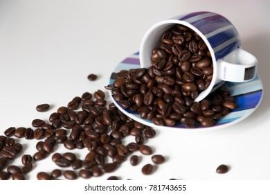 cup coffee beans