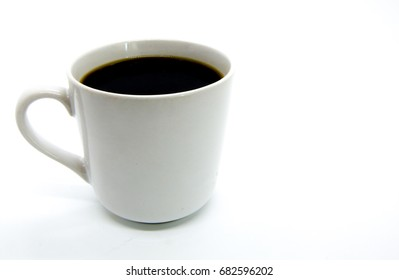A cup of coffee, bitter sweet