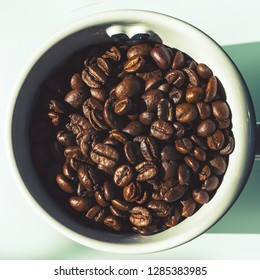 a Cup of Coffeebeans