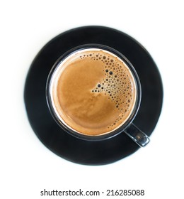 Cup of Espresso , Top View