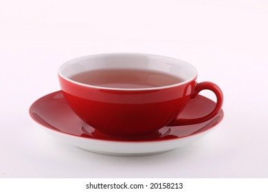 cup of fruit tea
