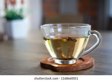 cup of hot tea.