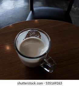 A cup of milk tea