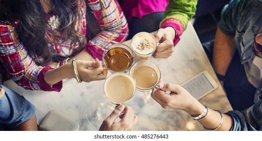 Cup Mug Tea Coffee Cafe Drinking Restaurant Concept